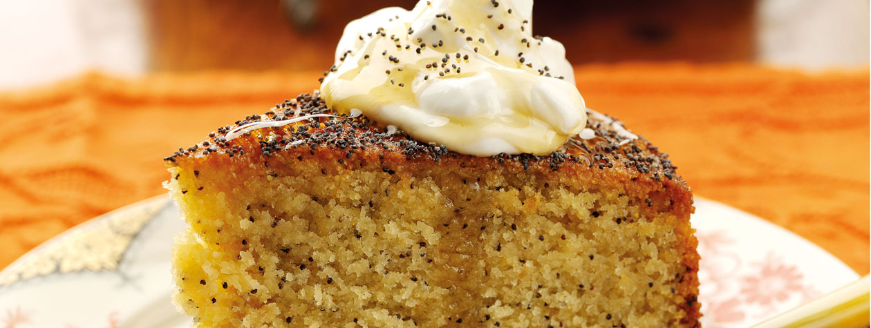 Almond And Orange Polenta Cake