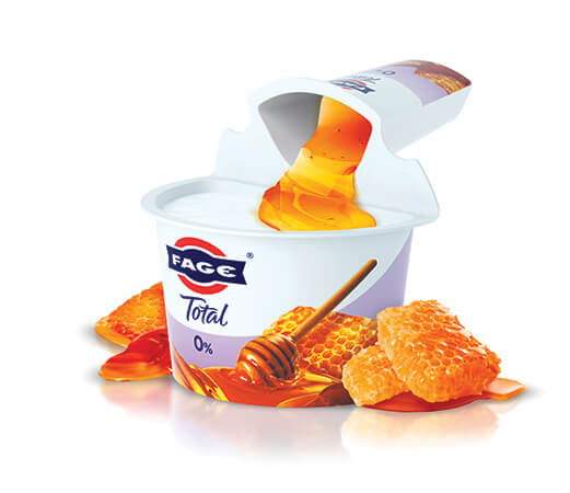 FAGE Total 0% Split Pot Yoghurt - Honey