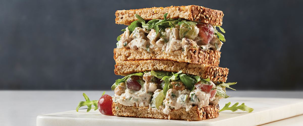 Yoghurt Chicken Salad Sandwich