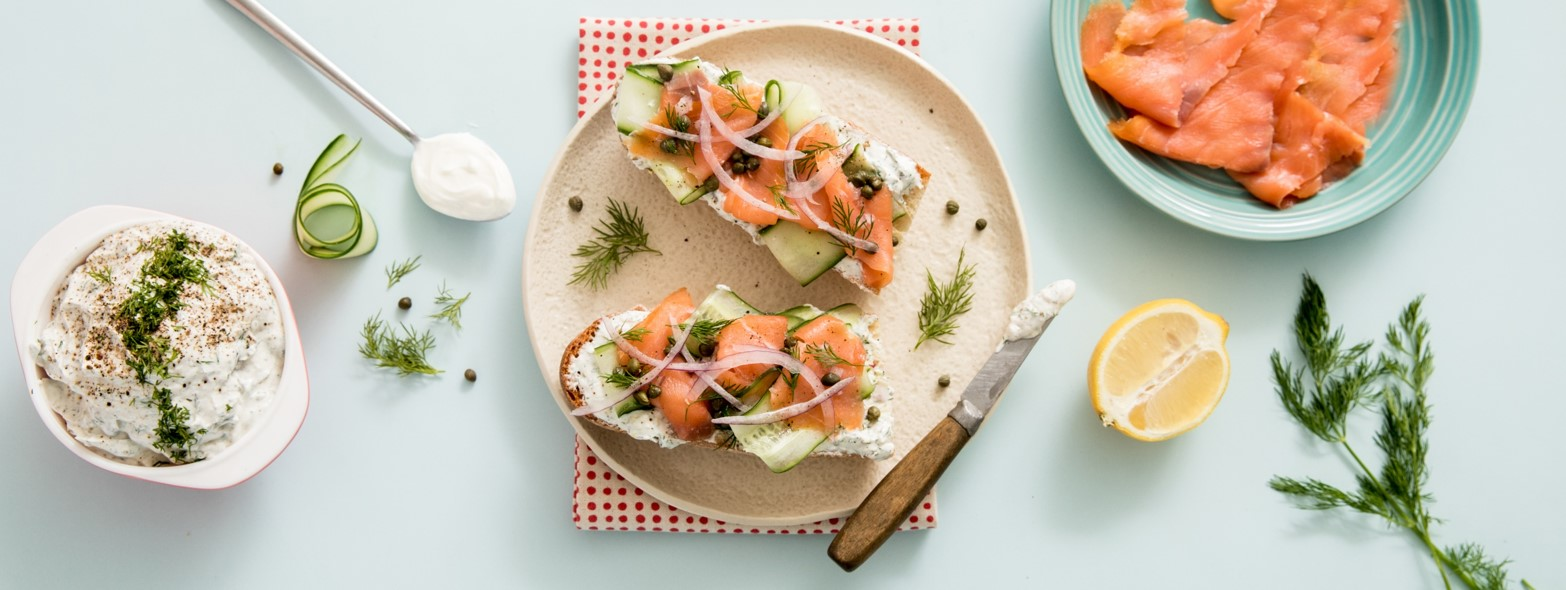 Salmon Tartines Header