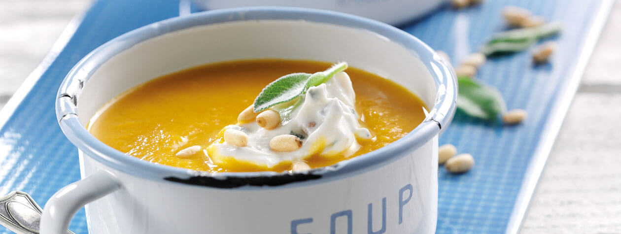 Honey Roasted Butternut Squash Soup