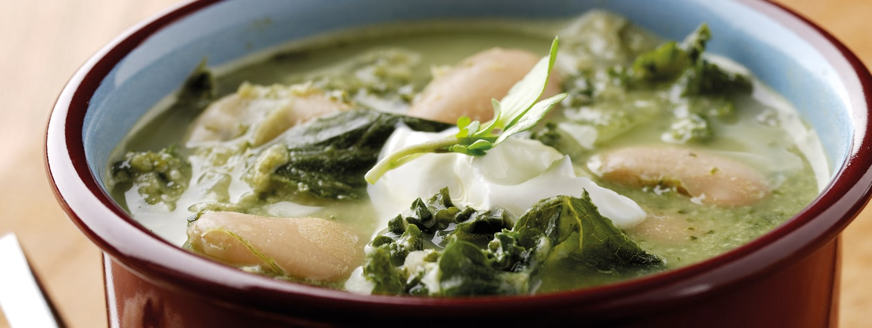 Hearty Kale and Butter Bean Winter Soup
