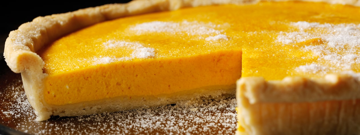 Pumpkin & Ginger Tart